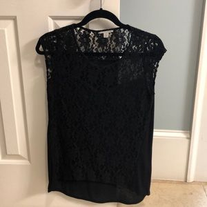 XS Halogen Lace shirt